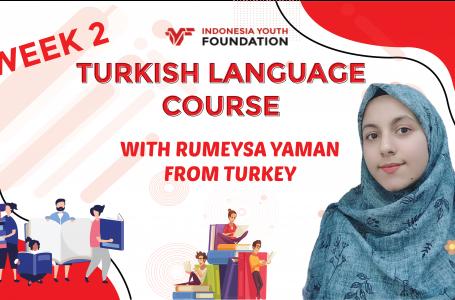 Turkish Languange Course Week 2