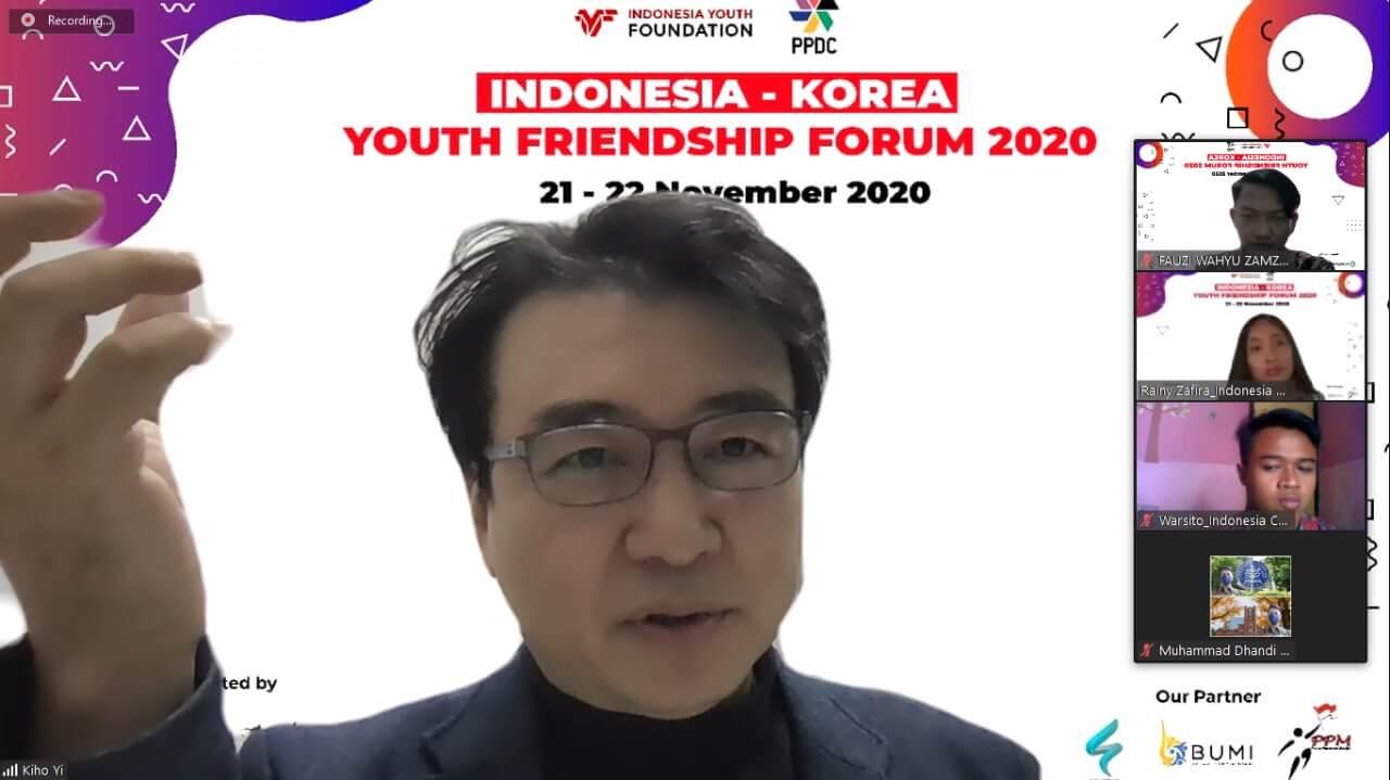 Indonesia korea youth friendship forum