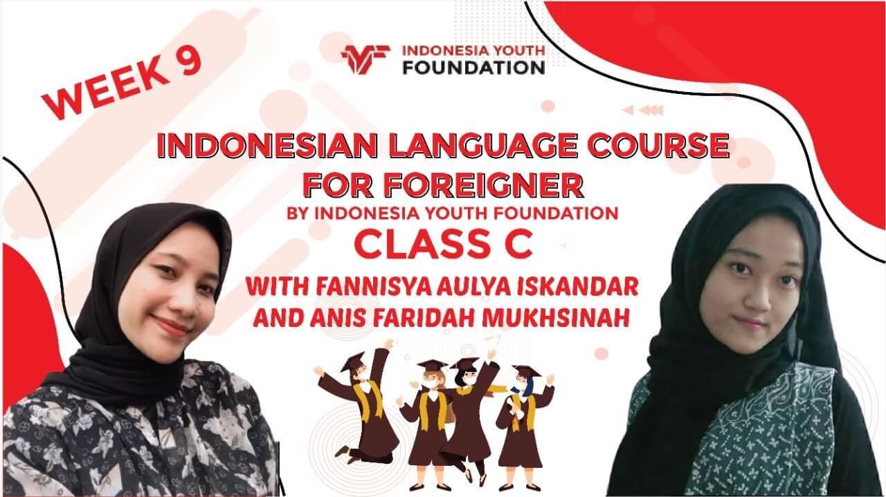 indonesian language course week 9