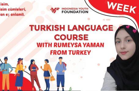 Turkish Language Course Week 5