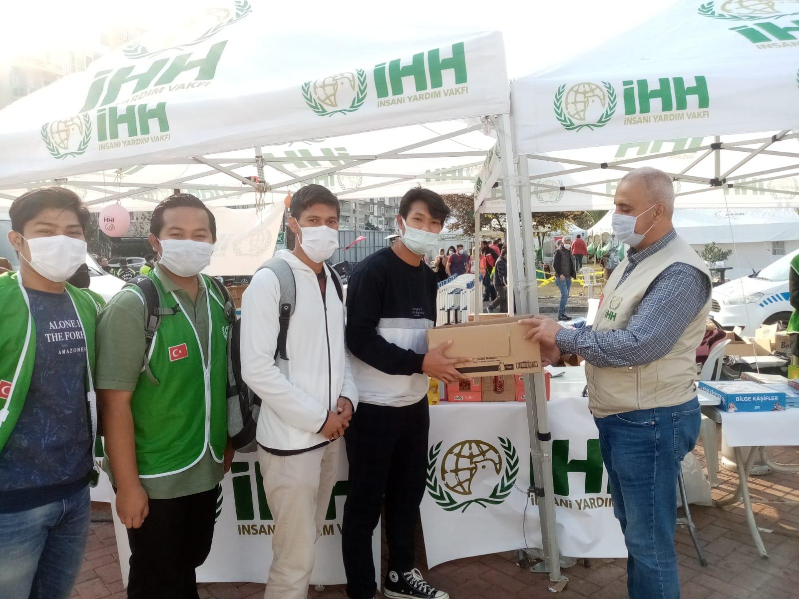 Indonesia youth founfation donasi izmir turki