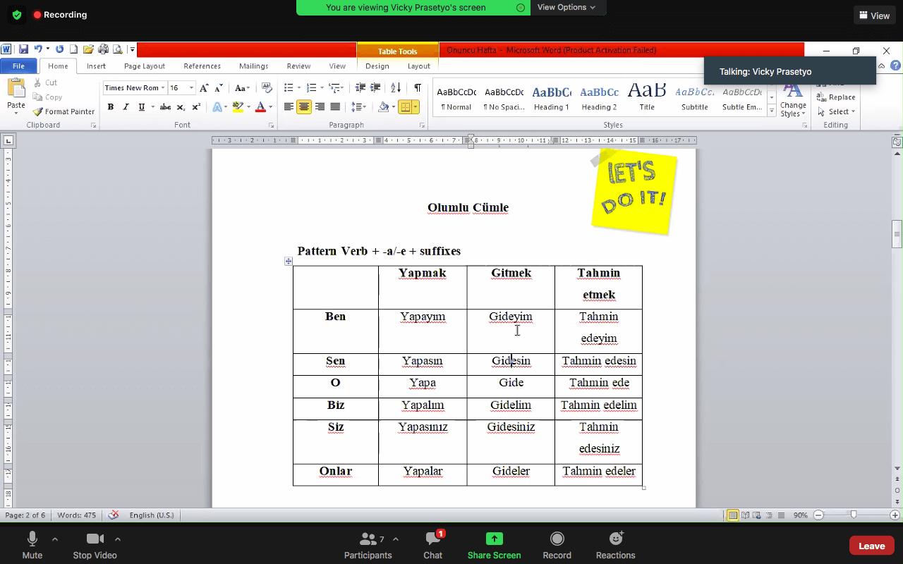 belajar bahasa turki mudah