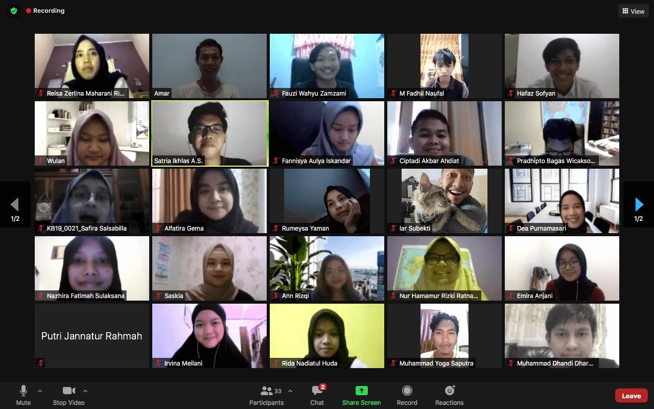 opening mentoring program - indonesia youth foundation 6